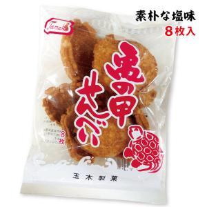 亀の甲せんべい 9枚入 (玉木製菓 沖縄 お土産 お菓子)