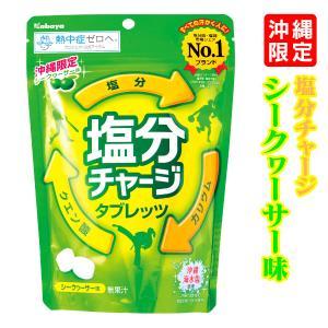 塩分チャージタブレッツ(シークワーサー味)90g (沖縄限定)  沖縄 お土産