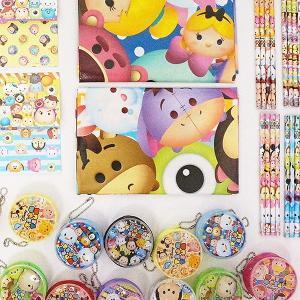 ディズニーツムツム・ディズニー文具 色々お買得123個セット|e-omatsuri