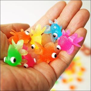 水に浮くすくい用おもちゃ ぷかぷかミニソフト出目金 100個/水のおもちゃ すくい用品 お祭り景品 縁日|e-omatsuri|04