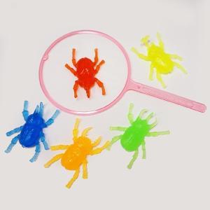 水に浮くすくい用おもちゃ ぷかぷかやわらかカブトムシ・クワガタ・昆虫(100個)/ 動画有 e-omatsuri