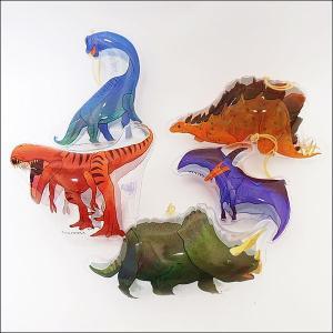 ビニールヨーヨー 恐竜ダイナソーパンチボール 20個|e-omatsuri