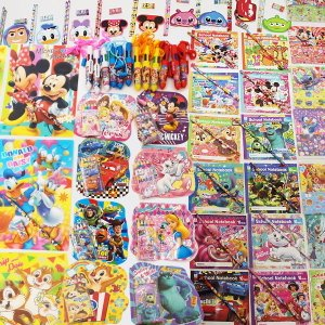 ディズニー文具 色々お買得147個セット/ 文房具 景品 プレゼント 粗品|e-omatsuri