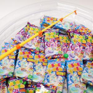 釣ったねるねるねで、「当り」がでたら、お菓子「おっとっと」プレゼント。くじ付ねるねるねるねのお菓子つりつり大会 50名様用|e-omatsuri