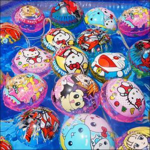 旧柄キャラクタービニールヨーヨーのみ 50個【ビニールヨーヨー お祭り景品 縁日】|e-omatsuri