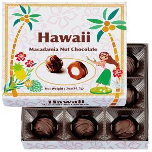 ハワイマカダミアナッツチョコ(フラデザイン)1箱(9粒入)