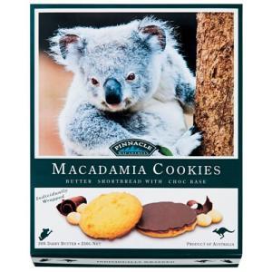 PINNACLE オーストラリアチョコがけ マカダミアナッツクッキー6箱セット