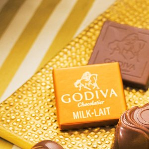 GODIVA ミルクチョコ2箱セット