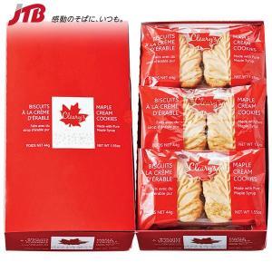 アメリカ カナダ 南米のお土産 たっぷりのメープルクリームをはさんだ人気のクッキー。配りやすい2個入...