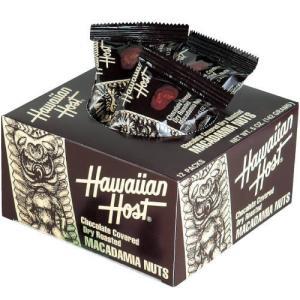 Hawaiian Host マカダミアナッツチョコボックス 12粒入