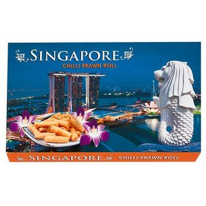 シンガポール お土産 シンガポール チリプロウンロール 125g お菓子|e-omiyage|02