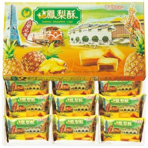 台湾 お土産 台湾 パイナップルケーキ1箱|焼...の詳細画像1