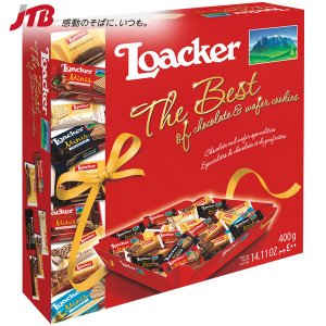 イタリア お土産 Loacker ローカー ウエハースボックス 44個入 お菓子