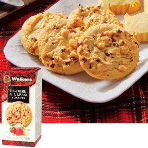 ウォーカー ストロベリービスケット 1箱 イギリス お土産 クッキー ヨーロッパ イギリス土産 おみやげ お菓子 輸入 JTB 世界のおみやげ屋さん