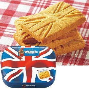 イギリス お土産 ウォーカー 缶入りショートブレッド1缶 クッキー ヨーロッパ イギリス土産 お菓子 JTB 世界のおみやげ屋さん
