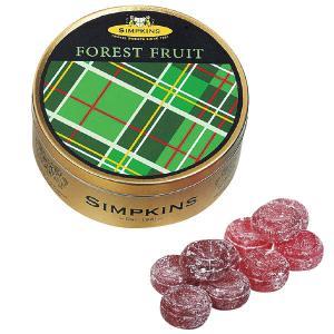 シンプキン フォレストフルーツ 1缶 イギリス お土産 キャンディ 飴 あめ ヨーロッパ イギリス土産 ホワイトデー JTB 世界のおみやげ屋さん