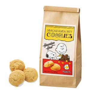 ハワイ お土産 ハワイアンホースト スヌーピー マカダミアナッツクッキー 1袋 Hawaiian Host お菓子 マカデミアナッツクッキー ハワイ土産 JTB 世界のおみやげ屋さん
