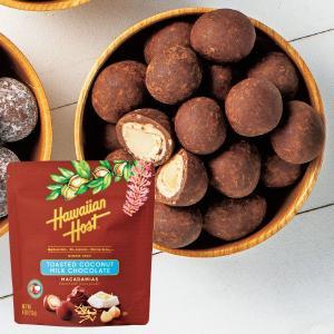ハワイアンホースト パラダイス トーステッドココナッツ マカデミアナッツチョコ 1袋 ハワイ お土産 チョコレート お菓子 JTB 世界のおみやげ屋さん