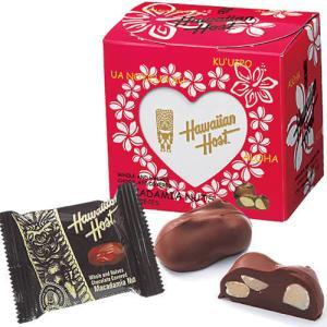 ハワイアンホースト マカダミアナッツチョコ ハートボックス 1箱 マカダミアナッツチョコレート ハワ...