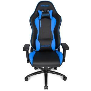 AKRacing Nitro ゲーミングチェア/オフィスチェア (ブルー)AKR-NITRO-BLUE [受注発注品:2週間〜4週間]|e-plaisir-shop