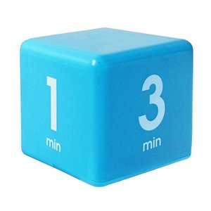 Cube Timer 4time options:1,3,5or7 minute DF-35(TIME CUBE)|e-plaisir-shop