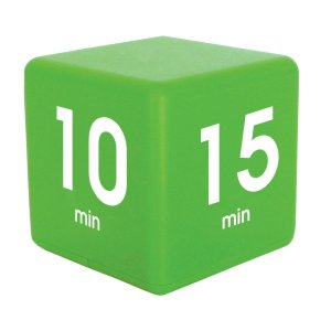 Cube Timer 4time options:1,5,10or15 minute DF-37(TIME CUBE)|e-plaisir-shop