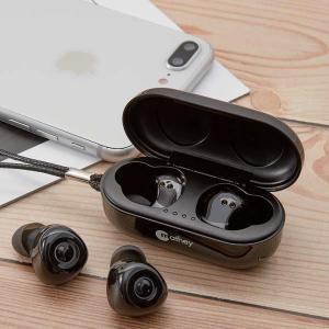 消費者還元事業 5%還元店 高音質 Bluetooth 5.0に対応完全ワイヤレスイヤホン <<Twin Sounds>> MTW-BT5BK(ブラック)|e-plaisir-shop