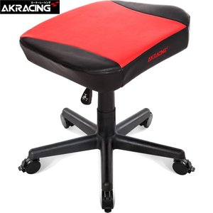 AKRacing Nitro AKRacing オットマン レッド Footrest(Red)  AKR-FOOTREST-RED [受注発注品:2週間〜4週間]|e-plaisir-shop