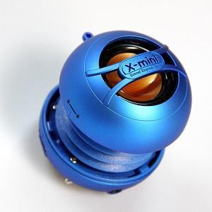 ポータブルスピーカー / スマートフォンやMP3に。 X-mini UNO ブルー XAM14-BL|e-plaisir-shop