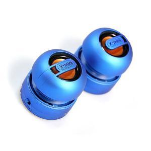 ポータブルスピーカー / スマートフォンやMP3に。 X-mini MAX ブルー XAM15-BL|e-plaisir-shop