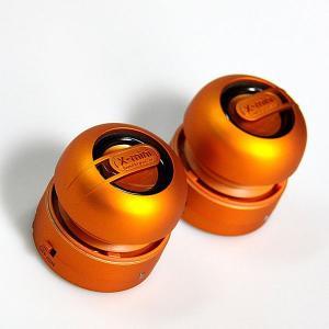 ポータブルスピーカー / スマートフォンやMP3に。 X-mini MAX オレンジ XAM15-OR|e-plaisir-shop
