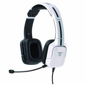 【新品・パケ不良アウトレット価格】PS4/PS3/PSVita TRITTON クナイ ステレオ ヘッドセット ホワイト MCS-KUN-SHS-WH MadCatz / マッドキャッツ|e-plaisir-shop