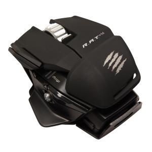 【新品・パケ不良アウトレット価格】Bluetooth 4.0 超小型ワイヤレスモバイルマウス R.A.T. M マットブラック MC-RME-MB MadCatz / マッドキャッツ|e-plaisir-shop