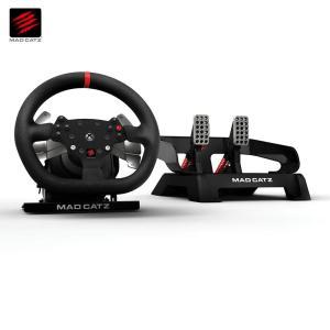 【新品・パケ不良アウトレット価格】Xbox One用 プロレーシング ホイール&ペダル ステアリングコントローラー MCX-RW-MC-PRO MadCatz / マッドキャッツ|e-plaisir-shop