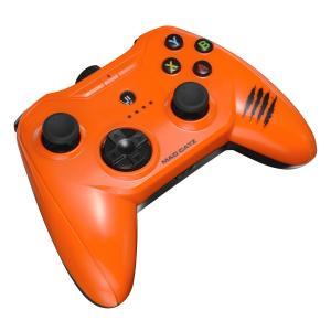 【新品・パケ不良アウトレット価格】iPhone / iPad対応ゲームコントローラー CTRLiモバイルゲームパッド オレンジ MC-CTRLI-ORZ MadCatz / マッドキャッツ|e-plaisir-shop