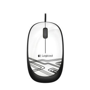 光学式3ボタン有線マウス ホワイト ロジクール M105WH e-plaisir-shop