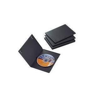 スリムDVDトールケース CCD-DVDS02BK|e-plaisir-shop