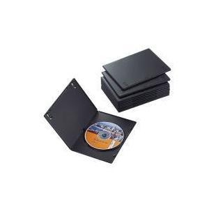 スリムDVDトールケース CCD-DVDS03BK|e-plaisir-shop