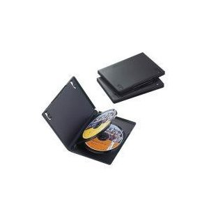 DVDトールケース CCD-DVD07BK|e-plaisir-shop