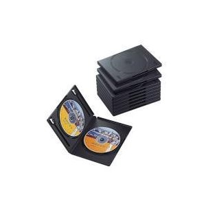 DVDトールケース CCD-DVD06BK|e-plaisir-shop