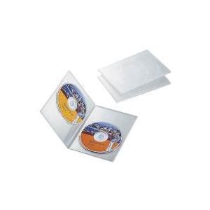 スリムDVDトールケース CCD-DVDS04CR|e-plaisir-shop