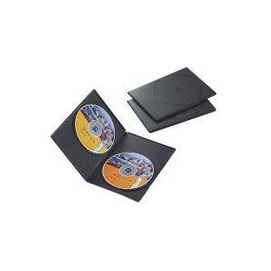 スリムDVDトールケース CCD-DVDS04BK|e-plaisir-shop