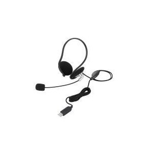 USBヘッドセット(ネックバンドタイプ)  HS-NB05USV エレコム e-plaisir-shop