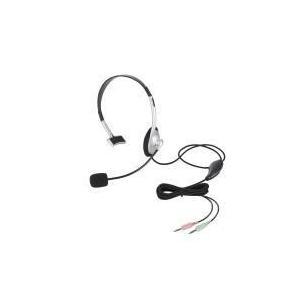 ヘッドセット(片耳小型オーバーヘッドタイプ)  HS-HP21SV エレコム e-plaisir-shop