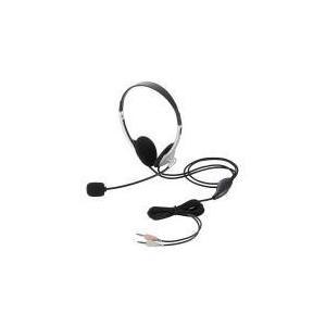 ヘッドセット(両耳小型オーバーヘッドタイプ)  HS-HP22SV エレコム e-plaisir-shop