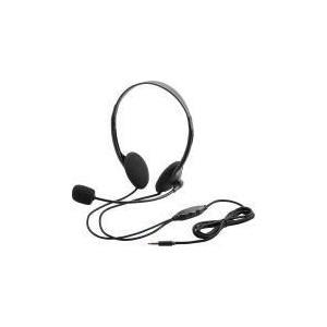 タブレット用ヘッドセット(両耳小型オーバーヘッドタイプ)  HS-HP22TBK エレコム|e-plaisir-shop