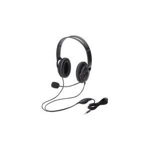 ヘッドセット(4極両耳大型オーバーヘッド)  HS-HP23TBK エレコム e-plaisir-shop