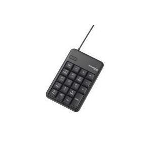 2ポートUSB2.0HUB付USBテンキーボード TK-TCM012BK エレコム|e-plaisir-shop