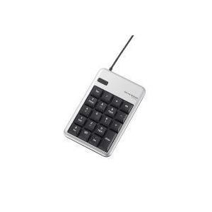 2ポートUSB2.0HUB付USBテンキーボード TK-TCM012SV エレコム|e-plaisir-shop