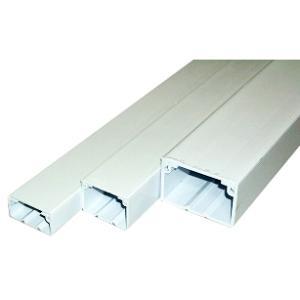 オーム電機 ケーブル用ダクト0号 2m はめ込み式 軽量 プラスチック 00-4159 e-price